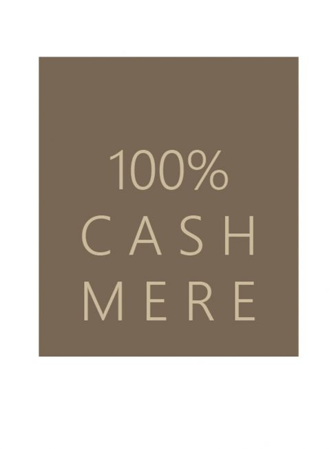 100% cashmere